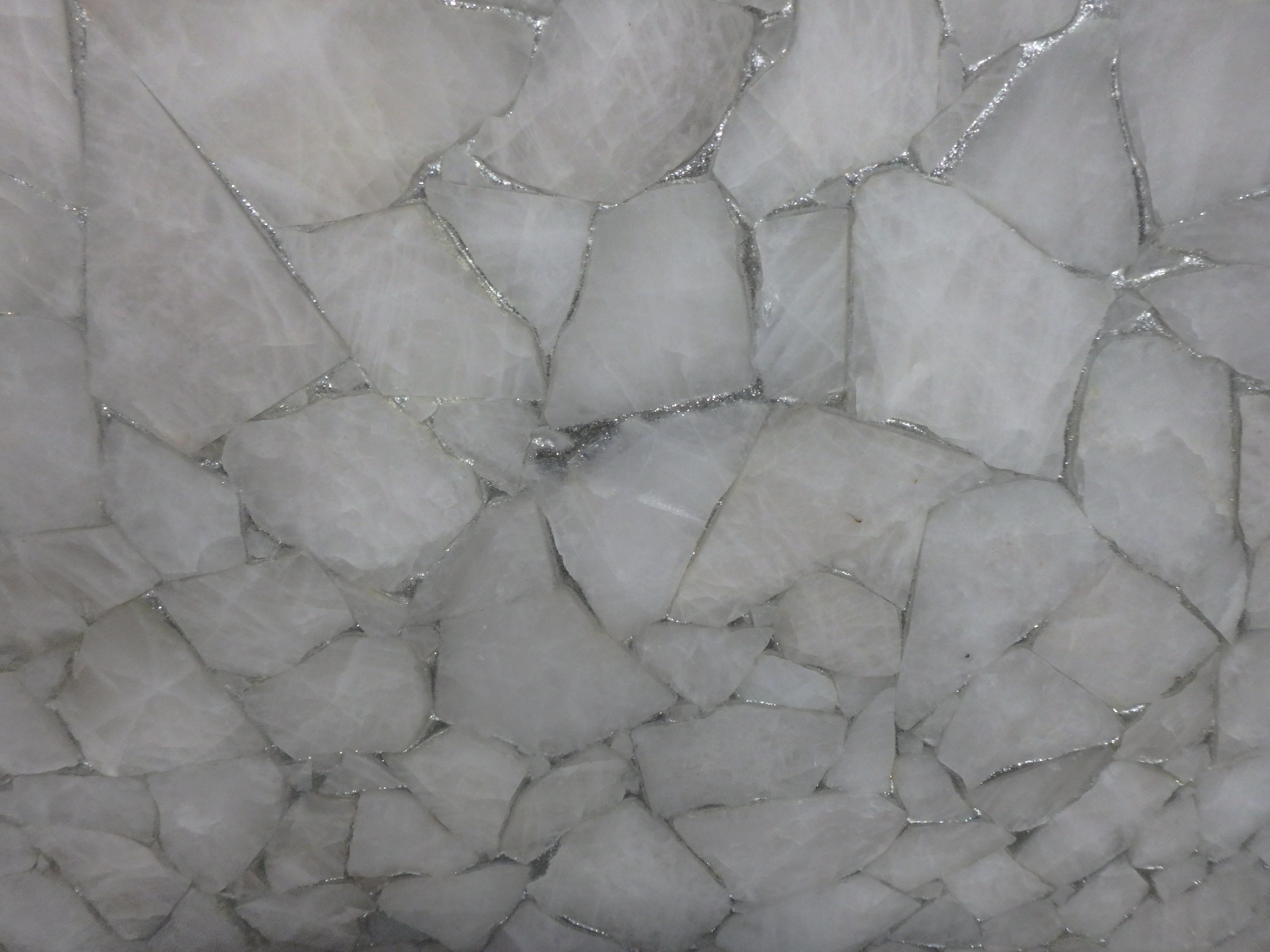 White Querh Glitter 2cm